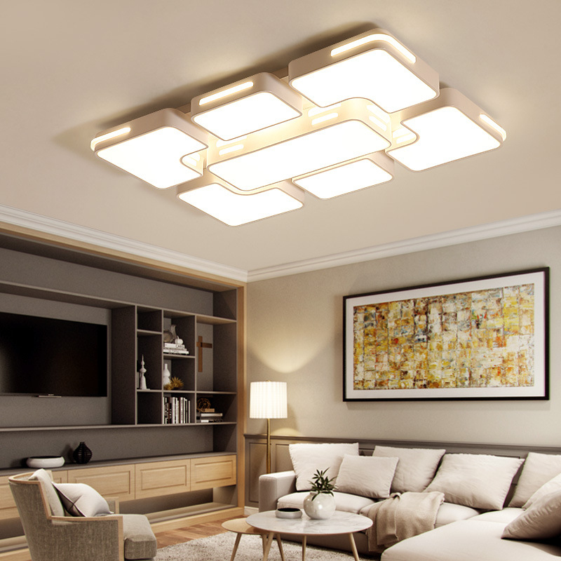Indoor Bedroom Kitchen Lamps,study,Foyer light remote control LED ceiling light European style light 90x60cm 56w for bedroom  Indoor Bedroom Kitchen Lamps,study,Foyer light remote control LED ceiling light European style light 90x60cm 56w for bedroom