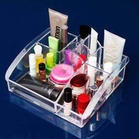 JULY S SONG 8 Lipstick Holder Display Stand Clear PS Make Up Organizer Cosmetic Organizer Makeup