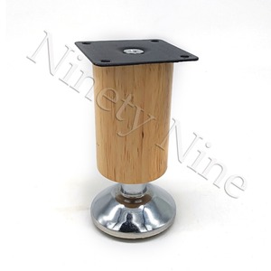 Image 4 - 4Pcs 100/120/150/180/200/250/300mm Height Wooden Furniture Cabinet Leg Cabinet Adjustable Feet Metal  Sofa Bed Foot Legs Support