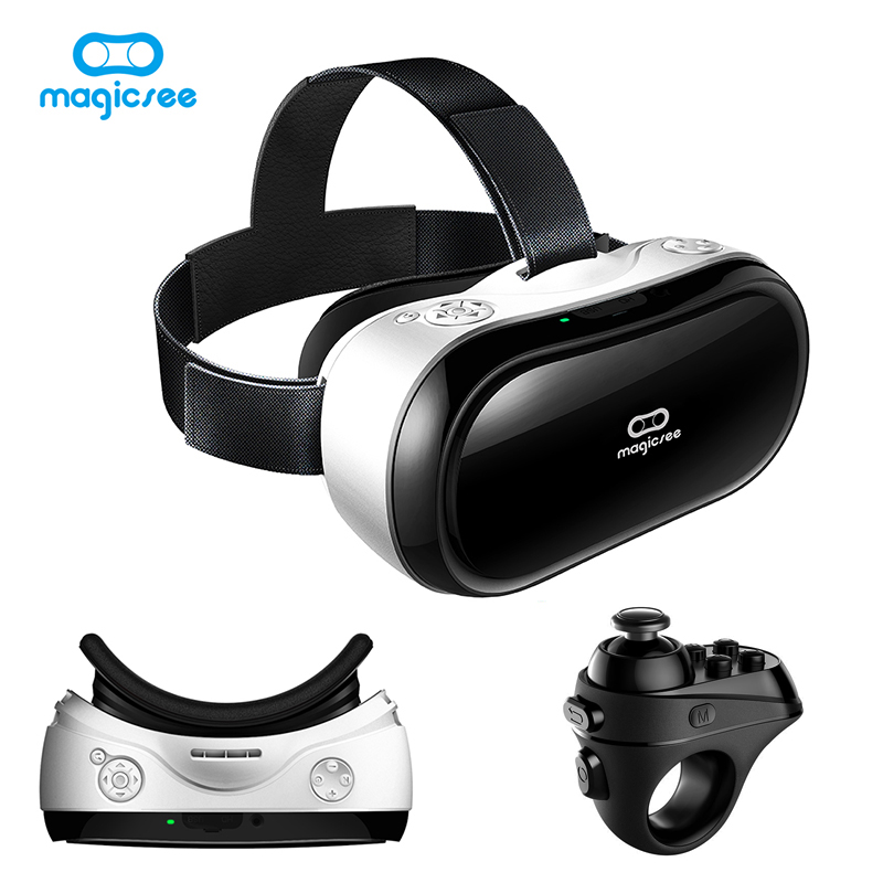 Magicsee M1 All in One Wi-fi VR Headset 3D Glasses Virtual Reality 1920*1080 5.5' TFT Screen Android 5.1/Bluetooth 4.0/2G RAM