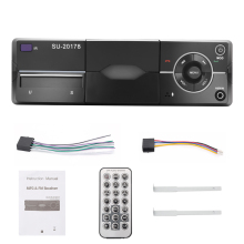 1 Din Car Radio MP3 Player Car Audio Stereo Bluetooth Stereo Radio 12V FM AUX Handsfree Calling In-Dash Autoradio