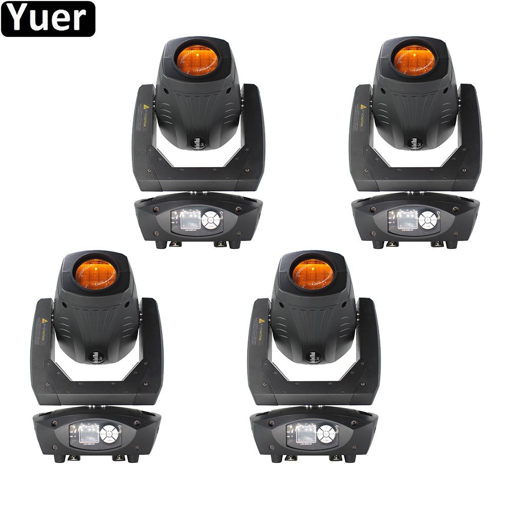 4Pcs/Lot Beam Spot Wash 3IN1 Stage Moving Head Light 200W LED Zoom Effect DMX512 Sound Party Light For DJ Disco Club Bar Wedding