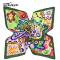 High Quality ring Square natural real Silk Scarf Women 60*60cm Fashion floral ladies Scarves Shawl neck Cotton Bandana Brand z15