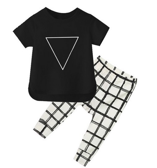 Baby boy clothes 2016 Brand summer kids clothes sets t-shirt+pants suit clothing set Star Printed Clothes newborn sport suits