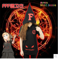 Cosplay Anime Baka to Test to Shoukanjuu Flaming Fire Force FFF Group Cos Summer New Short SleeveT Shirt