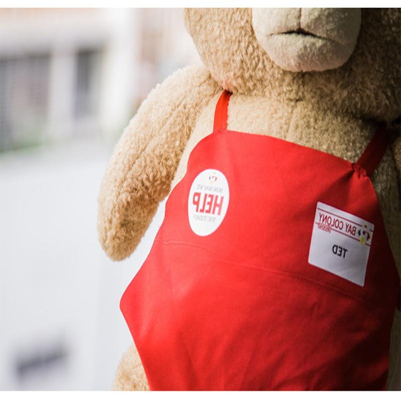 Ted2 tecknad film teddybjörn TED plysch leksaker mjuk fylld djur - Dockor och tillbehör - Foto 4