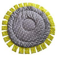 KAMIMI Sunflower Star Round Carpet Children'S Room Game Crawling Mat Baby Blanket Children Climbing Carpet