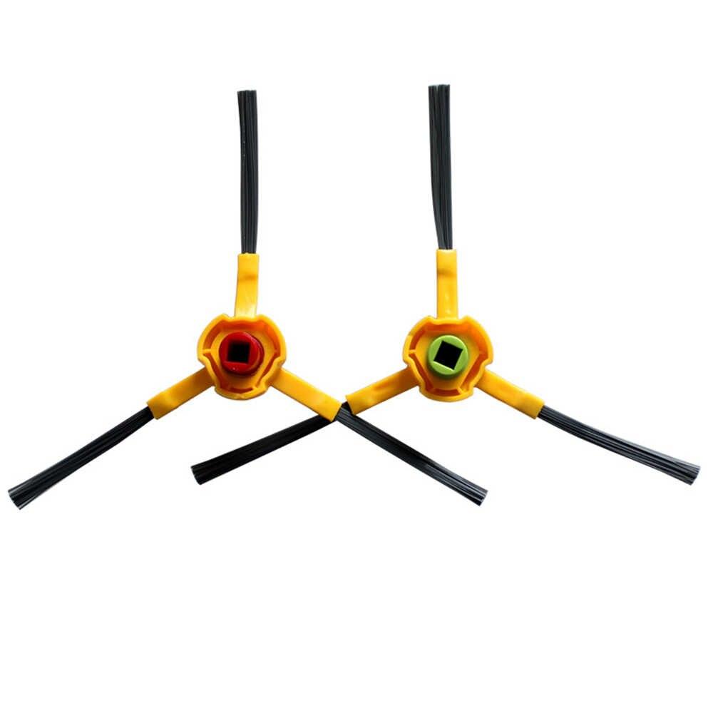 1 par lado cepillos para Ecovacs DEEBOT N78 M85 M88 M80 Pro M81 R95 SLIM2 D36A DA611 robótico accesorios de robot aspirador