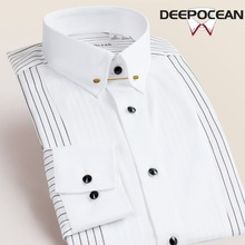 New Cotton Men Shirts Business Shirt Dress for man
