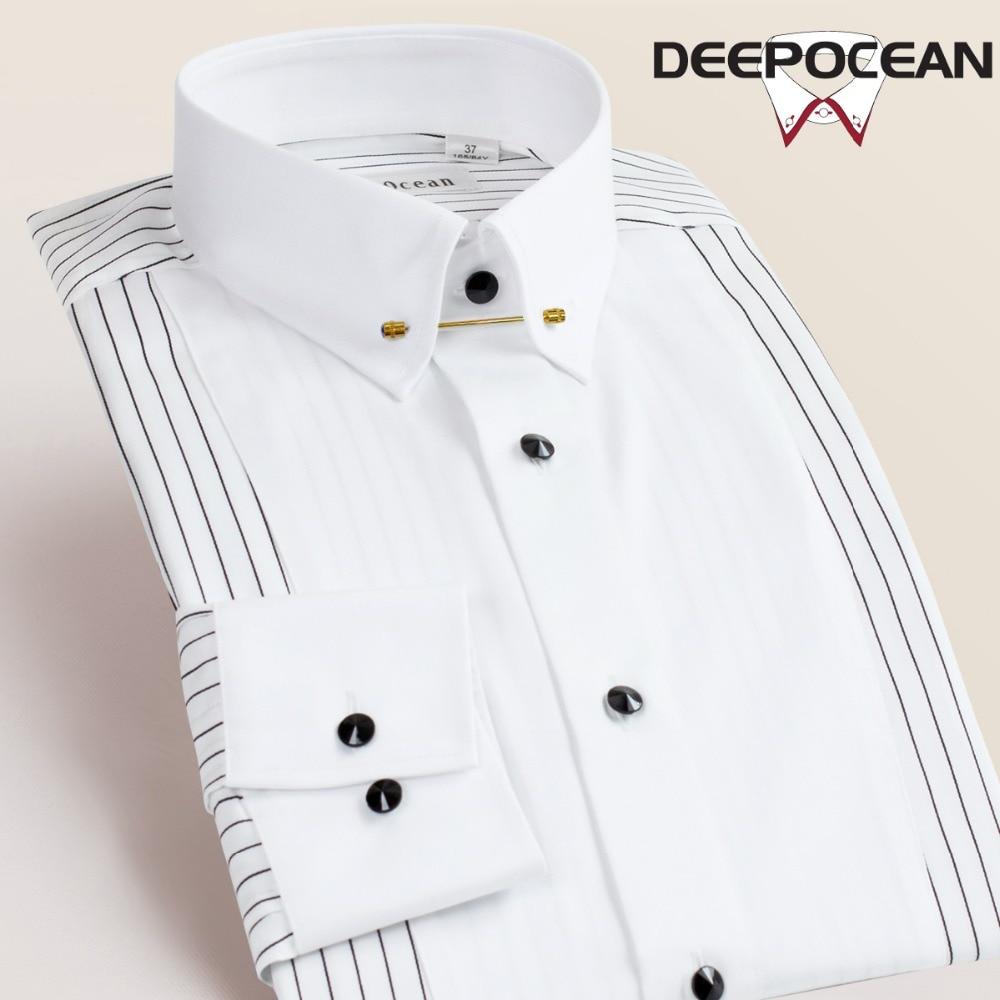 Herrenbekleidung & Zubehör Mode Herren Hemd Kleid Casual Shirt Männer Tops Gestreiften Langarm Männer Business Hemd Einfarbig Hombres Camisas Shirts Ddx5551 Einfach Zu Verwenden Hemden