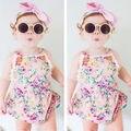 Newborn Infant Baby Girl Jumpsuit Bodysuit Floral Romper Outfits Sunsuit Clothes Clothes For Girls