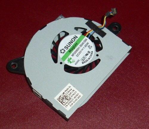 Original new cpu ventilador cooler para dell inspiron 13z 13z m301z n301z mf50060v1-b040-s9a sunon 1.65 w ou delta ksb0505hb-a 9l88 0.5a