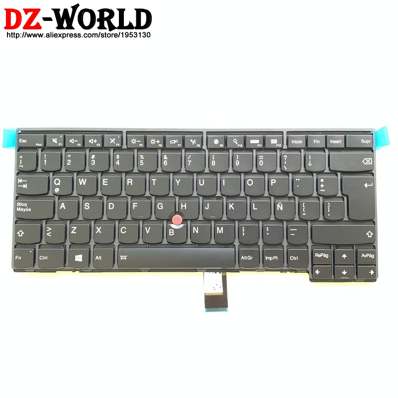 New/Orig SPA LAS Latin American Spanish Backlit Keyboard For Thinkpad T440 T450 T460 T440S T450S Teclado 01AX313 04X0142 04X0104