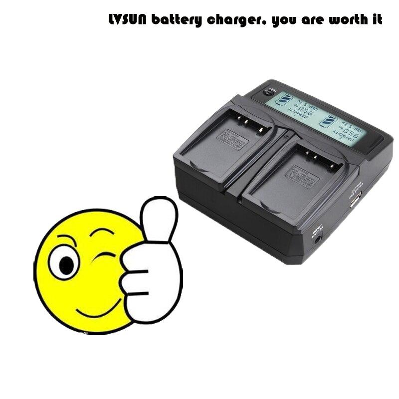цены на LVSUN Universal DC & Car Camera Battery Charger for CGA-DU21 DU21 Battery For PANASONIC CGR-DU06 DU12 DZ-GX20 DZ-MV750 PV-GS35 в интернет-магазинах