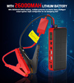 26000 mAh Jumper Start Auto Engine Booster Emergency Car Jump Starter Battery Power Bank for Electronics US EU Charger Plug