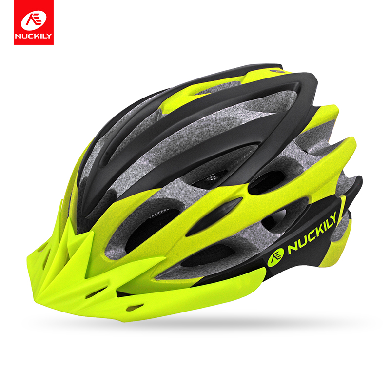 NUCKILY Cycling Helmet In mold Design Super Light Road Bike Bicycle Helmet Breathable MTB Mountain Cascos