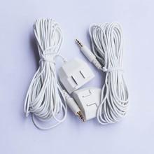 2pcs Acqua Sensibili Sensore di Cavo Bianco Cavo del Sensore per il Rilevamento Delle Perdite di Acqua Dispositivo WLD 805, WLD 806, WLD 807, trasporto Libero