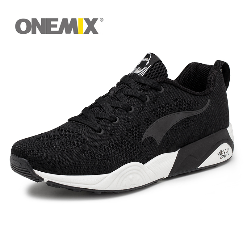 Onemix Для Мужчинs Mport Кроссовки ритм музыки Спортивная обувь для Для женщин Обувь с дышащей сеткой Открытый Спортивное легкий бег обуви