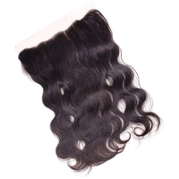 Bling Hair Lace Frontal 13X4 Body Wave Remy Human Hair Natural Color Brazilian Hair Density 130