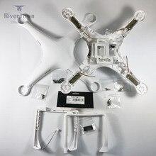 Orijinal marka yeni DJI Phantom 3 Pro gelişmiş vücut kabuk üst alt kapak iniş takımı pusula P3P P3A Drone onarım parçaları