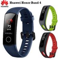 Original Huawei Honor Band 4 Smart Bracelet 0.95 OLED Touch Screen Fitness Tracker Heart Rate Sleep Monitor 5ATM Waterproof