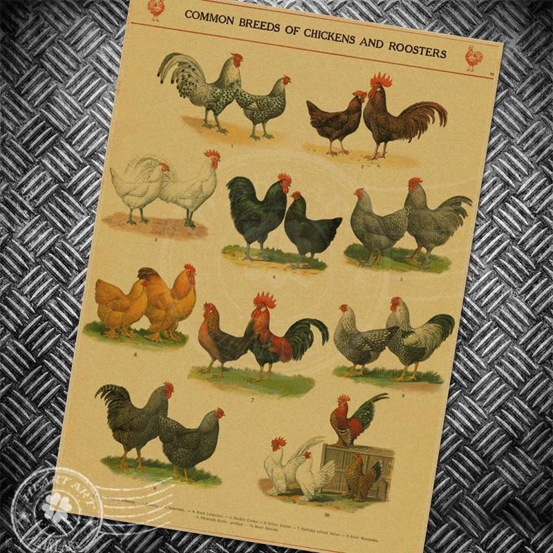 Screen Printed Dictionary Art Vintage Dictionary Print Art Print Rooster Poster Screen Print Poster Chicken Print Wall Decor