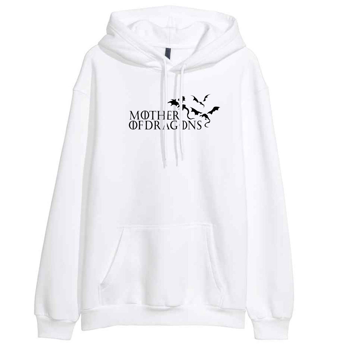 Game of Thrones 2019 New Arrival Print Spring Hoodies Winter Sweatshirt For Women Mother of Dragons Harajuku Streetwear Hipster