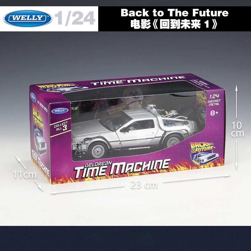 Välkommen 1:24 Diecast Skalmodell Bilfilm Tillbaka till framtiden - Bilar och fordon - Foto 4