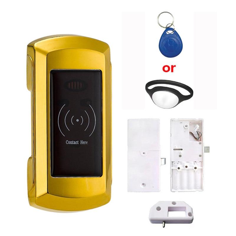 2 Sets Electronic Cabinet Locker Lock Smart Digital Lock For SPA Swimming Pol Gym EM108 high quality universal metal electronic digital rfid gym magnetic locker lock