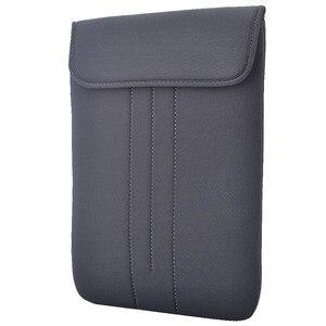 Image 3 - Notebook à prova d água Caso Bolsa Protetora para 17.3 17 15.6 15 14 13.3 12 11.6 polegada Laptop Sleeve suave capa de transporte sacos de malote