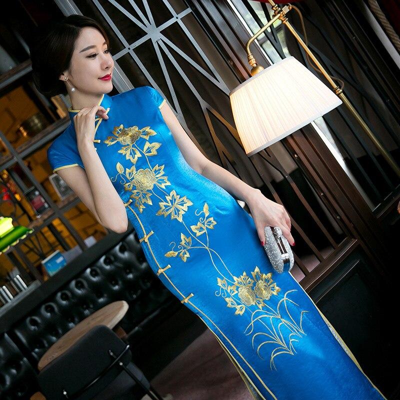 Röda Kvinnor Kinesisk Traditionell Klänning Röd Brud Bröllop - Nationella kläder - Foto 2
