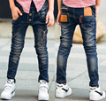 Male child jeans spring 2017 child trousers children's clothing fashion wild boy pants
