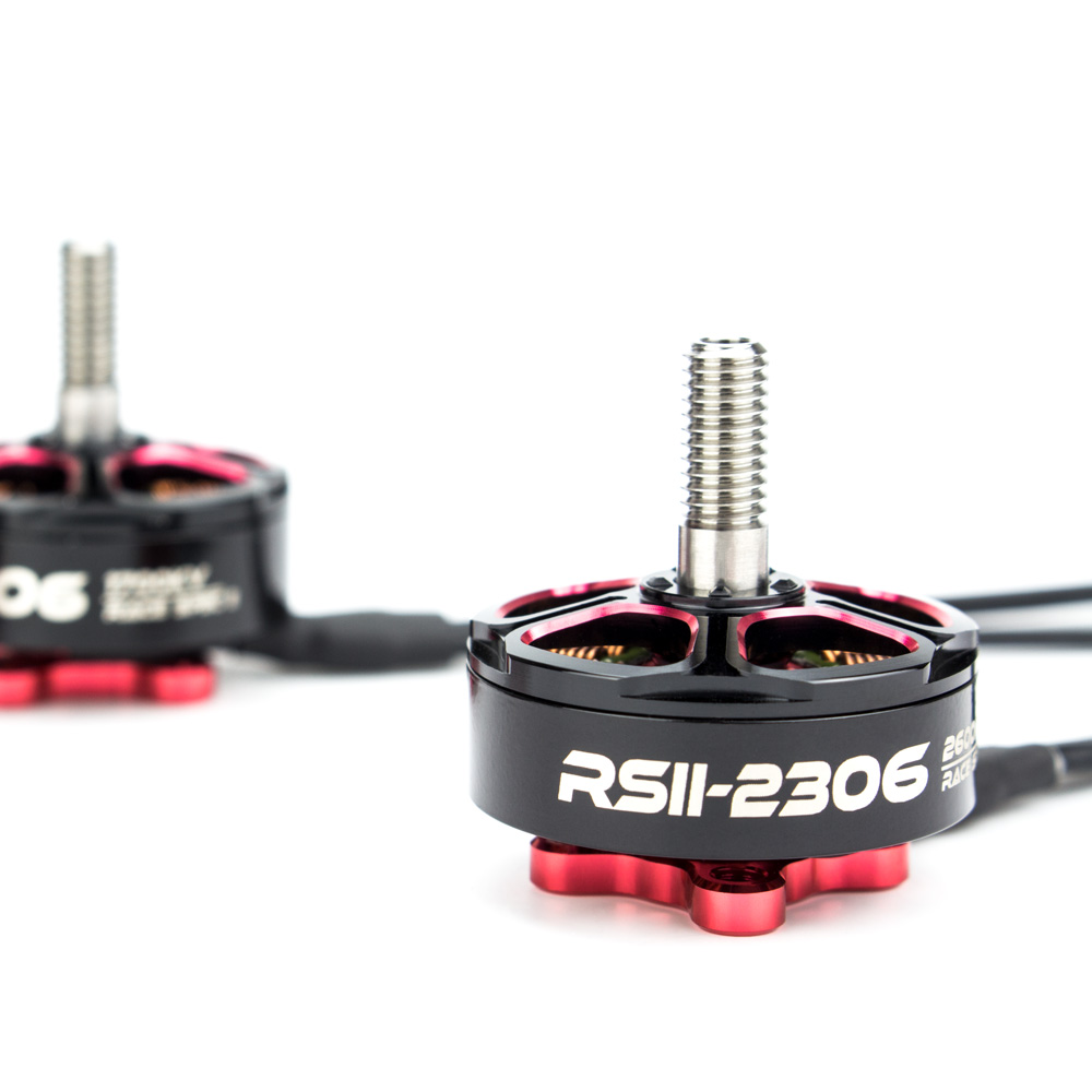 4pcs/lot Emax RSII 2306 Race Spec - Brushless Motor (3-6S)1600/1700/1900/2400/2600kv Brushless Motor CW CCW for FPV Quadcopter 4set lot original emax rs2205 2300kv 2600kv brushless motor for fpv quad racing qav race 2 cw 2 ccw wholesale dropship
