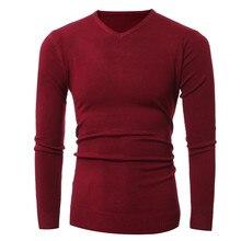 Free shipping 2016 autumn new fashion mens sweater sweater sweater V collar men coat cotton softness sweater