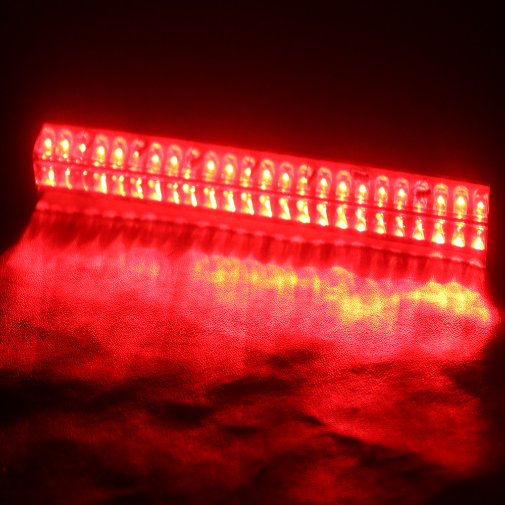 14 24 32 48 LED Auto Warning Lamp Light Source Stop Rear Tail Parking Lamp Red Light Car Brake Light 12V Car-styling Universal 40 led 34cm dc12v led light vehicle car light source auto fog stop tail rear brake warning light lamp high quality red