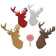 Christmas Patch Sequin Embroidery Accessories DIY Applique on Clothes Heat Transfer Iron-on Patches Clothing New Year
