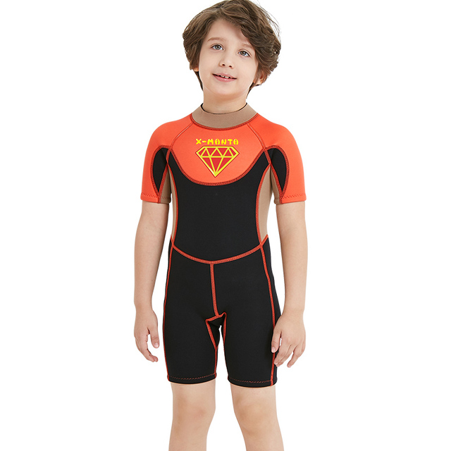 a8fe6e979c Kids Diving Swimming Suit Swimwear Full Body Jump Suit Dive Wet Suits Rash  Guards Boy Girl Surf Swim Suit Water Sports Triathlon