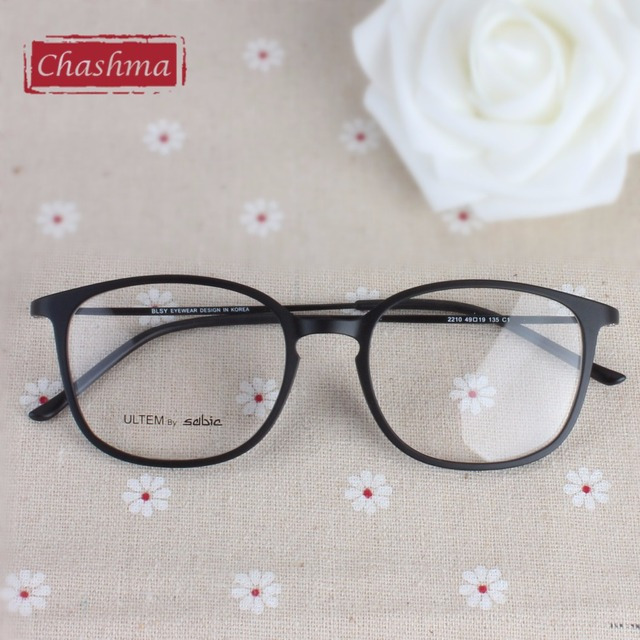1a1a5ca254 Chashma Brand Large Frame Utlem Eye Glasses Ultra Light Myopia Glasses  Frames for Women and Men