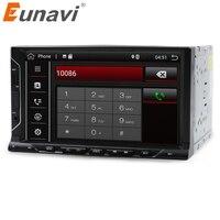Eunavi 2 Din 7 Inch Android 7 1 Universal Car Player For Juke Qashqai Almera X
