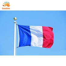 france flag 3ft*5ft 90*150cm bandera polyester Flying for 2018 world cup недорого