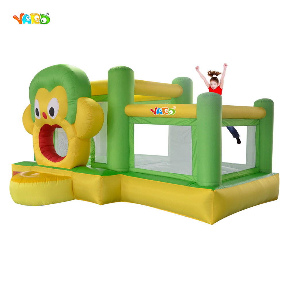 YARD bounce house inflatable jumper bouncer ball pool with blower Bouncy Castle yard residential inflatable bounce house combo slide bouncy with ball pool for kids amusement