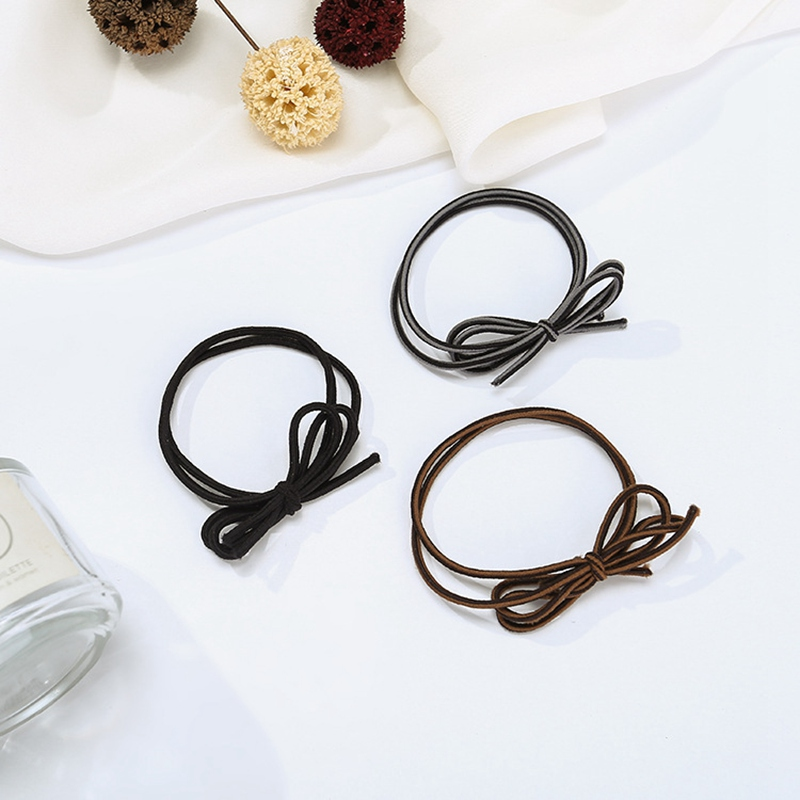 Girls Elastic Hair Bands Bow Hair Tie Band Ponytail Holder Ring Rope  Headwear Hair Accessories 20PCS for Women Children-in Women s Hair  Accessories from ... fe1635627d1
