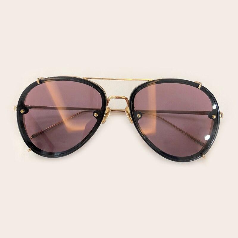 no Marke 2019 Oval Mode 5 Oculos 2 no Mit Feminino Frauen Rahmen no Sol Uv400 Brillen Designer Shades De no 4 No Legierung Verpackung 3 Sonnenbrille 1 Luxus dqRwtrp1Xw