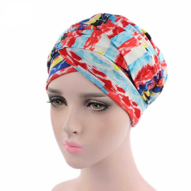 Black African Velvet Magic Headband Turbans Headwrap Tube Scarf Tie Hijab For Hair Muslim Bohemian Boho Chemo Cap Women Turban Hat Head Wrap