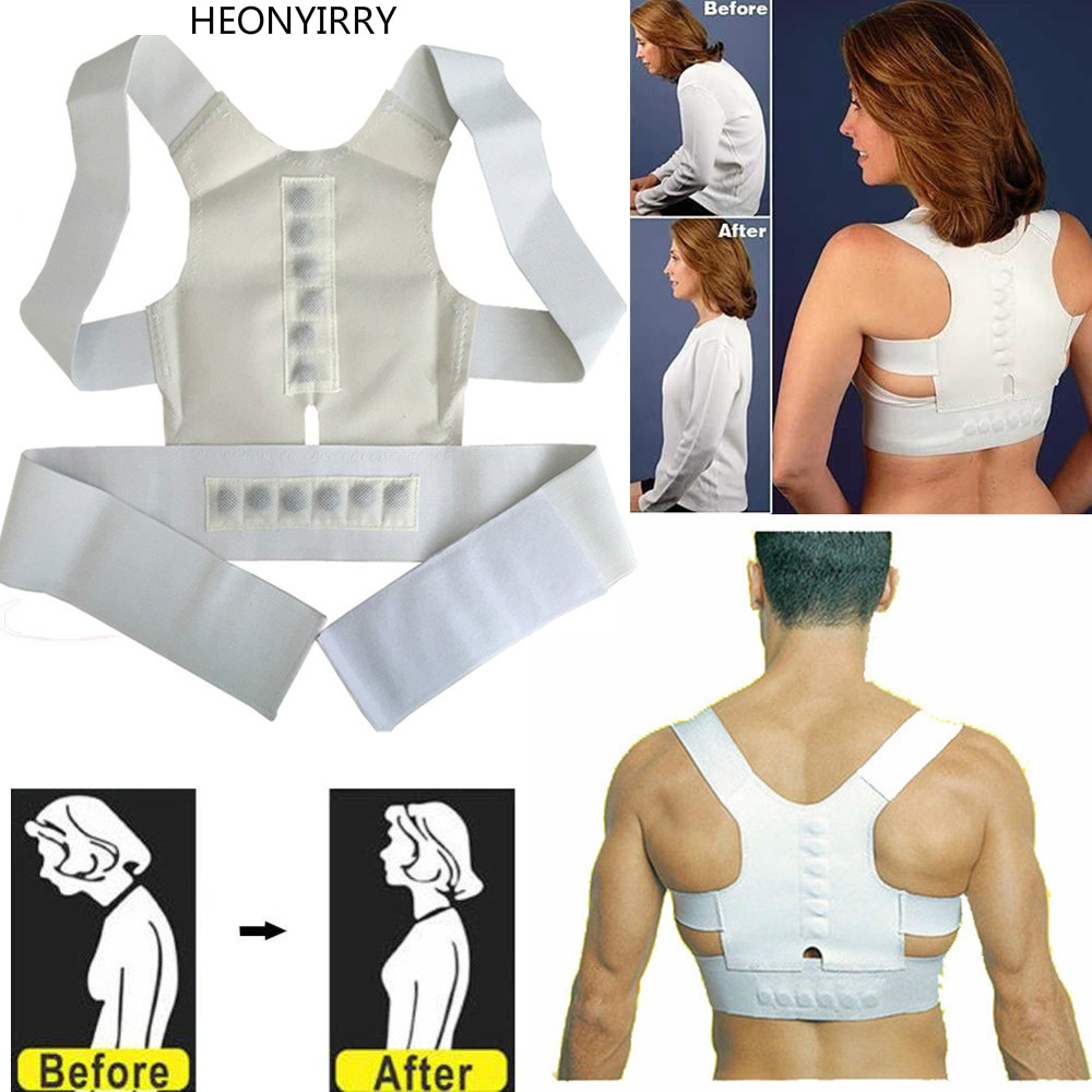 Magnetic Therapy Posture Corrector - Shoulder Back Support Belt - Shoulder Posture Face Lift Tool