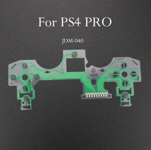 Image 3 - TingDong 20 adet/grup yedek denetleyici şerit devre kartı PCB iletişim Pad flex kablo için PS4 denetleyici onarım bölümü PS4 PRO