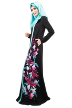 CaftanTop Fashion 2016 Appliques Adult New Sale Turkish Abaya Muslims Middle East Arab Robes Clothing Women Dress Dresses Female