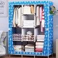 Современный простой домашний стильный портативный шкаф  нетканый шкаф для хранения  мебель для спальни  многофункциональный сборочный шка...