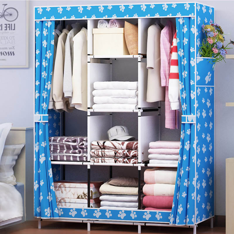Modern Simple Home Stylish Portable Closet Non-woven Storage Cabinet Bedroom Furniture Multi-Functional Assembly Wardrobe Closet hot sale non woven assembled wardrobe closet clothes storage cabinet wardrobe modern bedroom furniture wardrobe closet