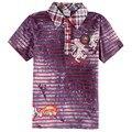 Meninos roupa nova marca crianças roupas menino t camisa tarja crianças t camisas fashiong car racing impresso camisetas de verão CA2130